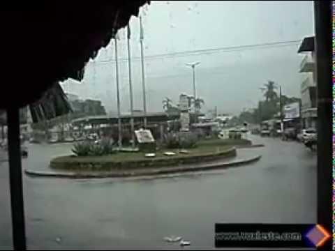Chuva em Itambacuri, MG