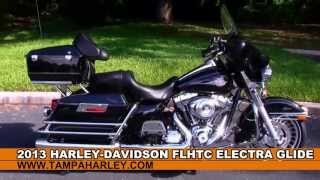 7. New 2013 Harley-Davidson FLHTC Electra Glide Classic - Touring Motorcycle