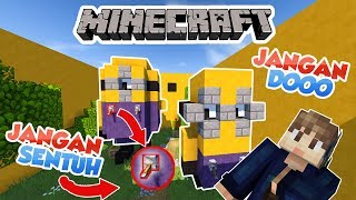 Video JANGAN SENTUH TOMBOL INI!!!. - MINECRAFT MAP INDONESIA #3 MP3, 3GP, MP4, WEBM, AVI, FLV Januari 2019