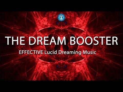 "EFFECTIVE Lucid Dreaming Music ""THE DREAM BOOSTER""  - Blank Screen For Sleep"