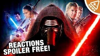 Star Wars The Force Awakens SPOILER FREE Critic Reactions! (Nerdist News w/ Jessica Chobot)