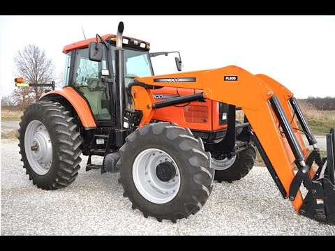 2005 Agco RT135 Tractor with 4145 Hours Sold on Missouri Auction Yesterday