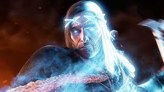 SHADOW OF WAR - UNIQUE REINFORCE & AMBUSH DIFFICULTY GRAVEWALKER IN NEMESIS DESERT