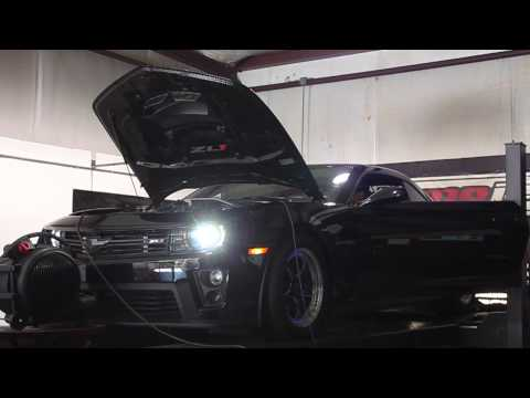 Vengeance Racing built Stage V ZL1 with Nitrous Outlet system making a 1000+RWHP Dyno Pull