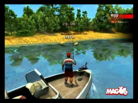 rapala pro bass fishing wii u review