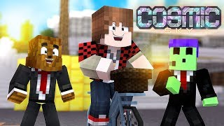 Building My $50,000,000 House (IS Level 10) - Minecraft Cosmic Sky #16   JeromeASF