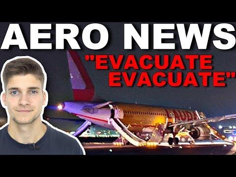So wird ein Flugzeug evakuiert
