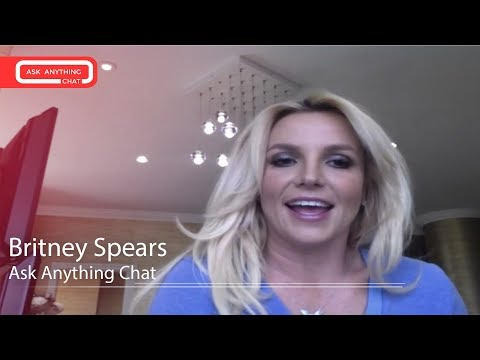 Britney Spears Answers Fan Questions On Ask Anything Chat w/ Romeo, SNOL ‌‌ – AskAnythingChat