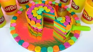 Play Doh Birthday Cake Party Dessert Playdough