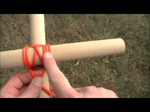 Knot Of The Week - Japanese Square Lashing