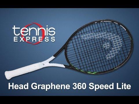 Head Graphene 360 Speed Lite Tennis Racquet Review | Tennis Express