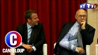 Video C'est Canteloup - Emmanuel Macron piège Michel Sapin MP3, 3GP, MP4, WEBM, AVI, FLV Juli 2017