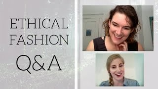 Natalie Grillon co-founder of Project JUST joined me to chat about ethical and sustainable fashion, why she started Project JUST, issues in the fashion indus...