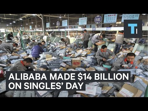 Alibaba made over $14 billion from China's Singles' Day