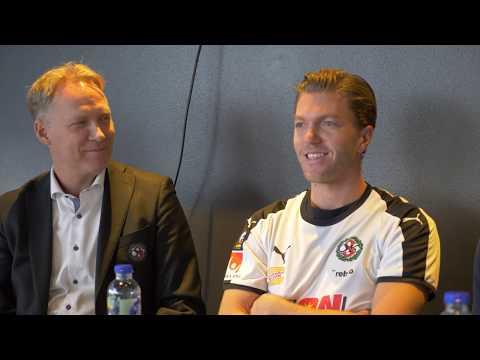 Presskonferens: Martin Broberg presenteras som ny spelare