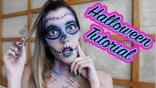 Tutorial de Halloween - Caveira Mexicana
