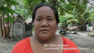NZ Labour MP Su'a William Sio visited Tuvalu and Kiribati during March 2016 on a fact finding mission to explore the impact of climate change on these nations.