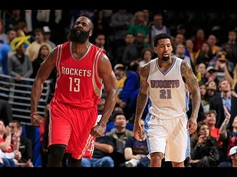 James Harden Scores 41 Points, Leads Rockets to OT Win