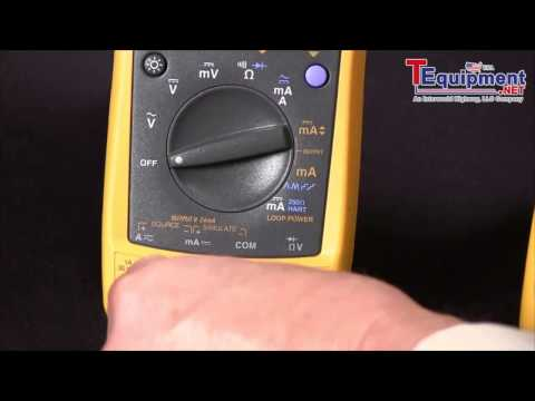 How To Source 4 20Ma Using The Fluke 789 Process meter