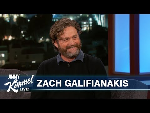 Zach Galifianakis Reveals Hilarious Story About His Son