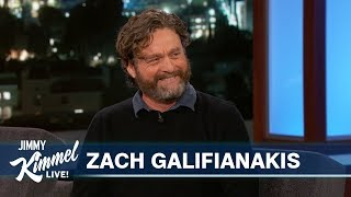 Video Zach Galifianakis Reveals Hilarious Story About His Son MP3, 3GP, MP4, WEBM, AVI, FLV September 2019