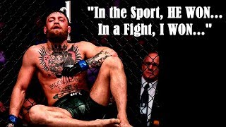 Video Conor McGregor Responds to Khabib Fight | What Did He Really Say? MP3, 3GP, MP4, WEBM, AVI, FLV Oktober 2018