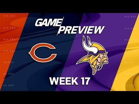 Video: Chicago Bears vs. Minnesota Vikings | NFL Week 17 Game Preview | NFL Playbook