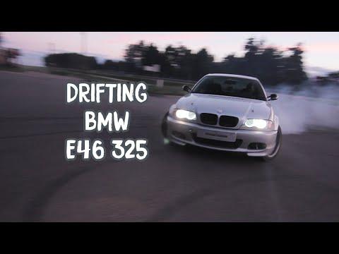 Drifting BMW E46 325