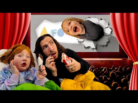 A for Adley THE MOViE!!  Daddy Daughter Date!  Dinosaur Park visit!  Cops vs Robbers prison escape!
