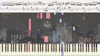 Снег над Ленинградом (Фантазия на тему)(Ноты и Видеоурок для фортепиано) (piano cover)