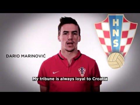 Croatian National Teams support My Tribune #3