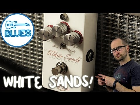 Keeley Electronics White Sands Luxe Drive Pedal