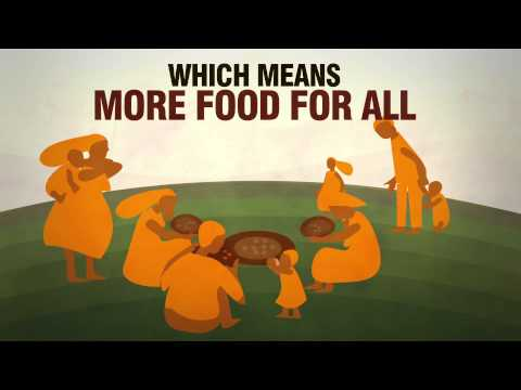 Which means more food for all