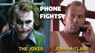 Video PHONE FIGHTS : The Joker vs John McCLane MP3, 3GP, MP4, WEBM, AVI, FLV Oktober 2017