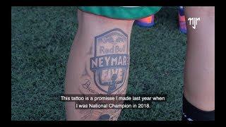 Video Neymar Jr's Five   Português campeão regional faz tatuagem do evento MP3, 3GP, MP4, WEBM, AVI, FLV Juli 2019