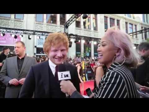 On The Red Carpet: Ed Sheeran   MTV FORA