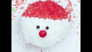 Cupcake di Babbo Natale