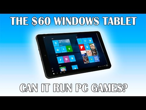 Can a $60 Windows Tablet Play PC Games?