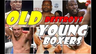 Video When YOUNG Boxer Gets destroyed by  OLD boxer MP3, 3GP, MP4, WEBM, AVI, FLV Januari 2019