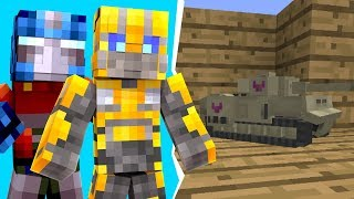 Minecraft - We Transformed Into A TANK In Crazycraft | JeromeASF