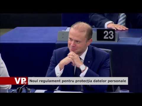 Noul regulament pentru protecția datelor personale