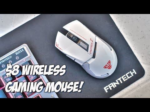 Fantech WG8 Wireless Gaming Mouse Review