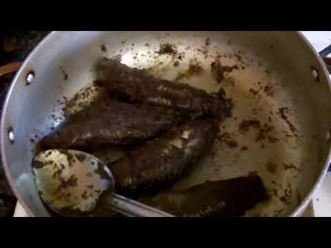 Caribbean Recipe: How To Make Guyanese Hassa Curry Fish – Trinidad Cascadura / Cascadoo Curry Fish Part 1