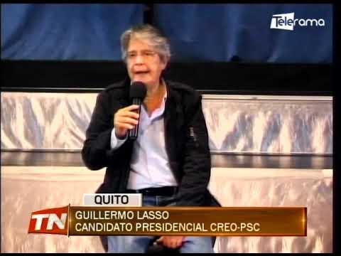 Candidatos desarrollaron actividades de campaña en la capital