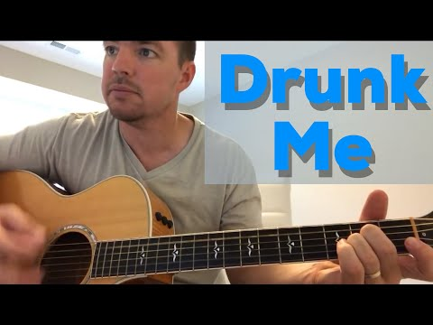 Drunk Me | Mitchell Tenpenny | Beginner Guitar Lesson