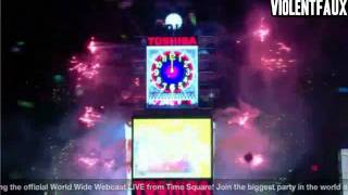 Lady Gaga - New Year's Eve Times Square Ball Drop 2012 HD