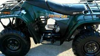 8. 2001 ARCTIC-CAT 250 4X4 $1000 FOR SALE WWW.RACERSEDGE411.COM