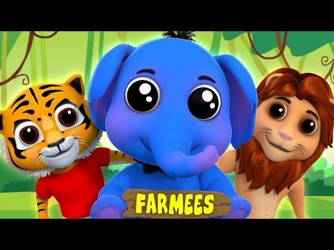 Best Kids Songs & Nursery Rhymes | Kindergarten Cartoon Videos For Children | Farmees