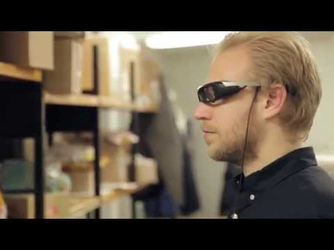 SmartEyeglass inspirational demo by APX Labs