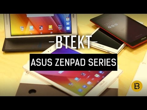 Asus ZenPad Series: Hands on with the S 8.0 (Z580C), 8.0 (Z380C) and C 7.0 (Z170C)